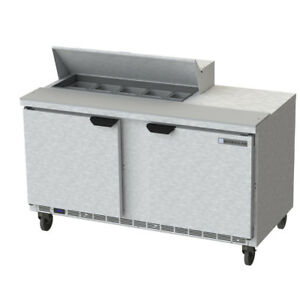 Beverage Air Spe60hc 10 60 Refrigerated Sandwich Salad Prep Table