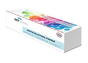 Sky Choice Articulating Paper Thin blue 71 Microns 12 Books box