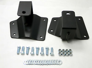 2 Rear Axle Drop Hangers Lowering Kit For 1999 06 Chevy Gmc 1500 Pickup Truck