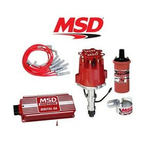 Msd 90221 Ignition Kit Digital 6a distributor wires coil Buick 400 430 455