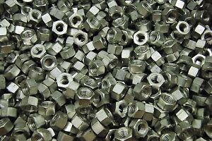 350 Aluminum 3 8 16 Hex Finish Nuts Made In Usa 6262 t9