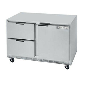 Beverage Air Ucrd48ahc 2 48 Undercounter Reach in Refrigerator W Drawers