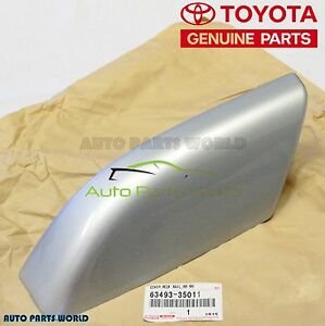 Genuine Toyota 04 09 Silver 4runner Rear Passenger Roof Rack Cover 63493 35011