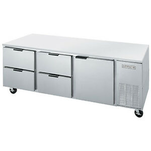 Beverage Air Ucrd72ahc 4 72 Undercounter Reach in Refrigerator W Drawers
