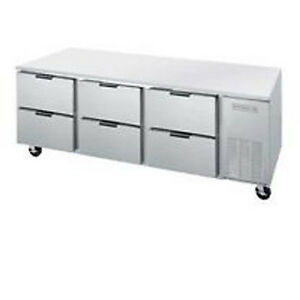 Beverage Air Ucrd93ahc 6 93 Undercounter Reach in Refrigerator W Drawers