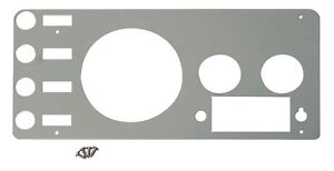 Kentrol Stainless Steel Dash Gauge Panel Cover For Jeep Cj7 1977 1986 30412