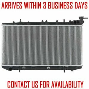 Radiator For Nissan 200sx 95 96 Nx Sentra 91 99 1 6 2 0 L4