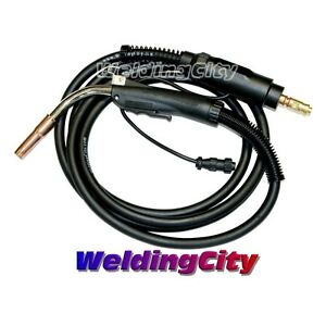 Mig Welding Gun 250a 12 Replacement Torch Stinger For Lincoln Tweco Us Seller