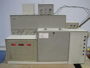 Tracor 540 Gas Chromatograph Hall Detector 706 Discharge Ionization Detector