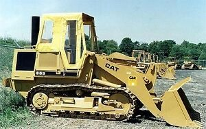 Usa Caterpillar Cat 943 953 963 973 Front End Loader Soft Tractor Cab