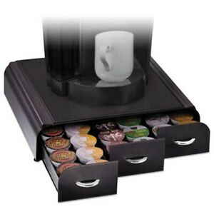 Mind Reader Anchor K cup Coffee Organizer Black emstry01blk