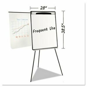 Mastervision Magnetic Gold Ultra Dry Erase Tripod Easel Black bvcea23062119