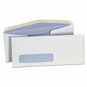 Universal Security Tinted Window Business Envelope White 500 box unv35203