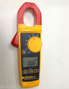 1pcs New Fluke 325 True rms Clamp Meter 40 00 A 400 0 A With Soft Carrying Case