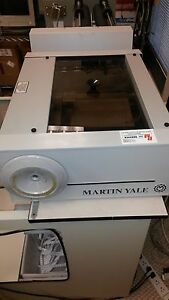 Martin Yale 970a Tabletop Burster Margin Slitters 115v 60hz Good Condition
