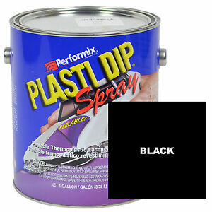 Plasti Dip Spray 1 Gallon Can Ready To Spray Matte Black