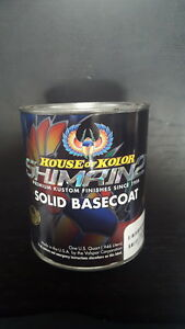 House Of Kolor Shimrin 2 Jet Black Base Quart S2 25