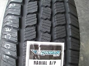 4 New P 245 75r16 Ironman Radial A p Tires 75 16 R16 2457516 75r White Letters