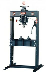Brand New Dake 50h Hand Operated Hydraulic Press 50 Ton