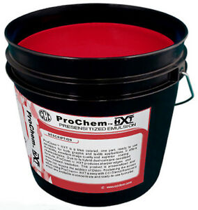 Cci Prochem Hxt Red Photopolymer Presensitized Emulsion Screen Printing Gallon