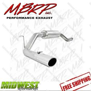 Mbrp Resonator Back Single Side Exit Fits 2000 2006 Toyota Tundra 4 7l V8
