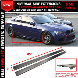 Fit For Side Skirts 80 85 In Length Extensions Rocker Panel Splitters