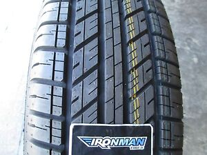 2 New 245 65r17 Ironman Rb Suv Tires 245 65 17 R17 2456517 65r Owl
