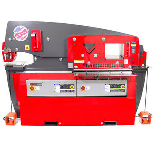 Brand New Edwards 110 65 Ton Elite Iron Worker Dual Op 9 Round Punch