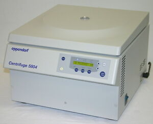 Eppendorf Centrifuge Model 5804 With F34 6 38 Rotor