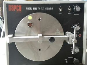 Napco Test Chamber Autoclave Model 8110 dt