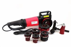 2000w Portable Electric Pipe Threader W 6 Dies Threading Machine 1 2 To 2 Npt