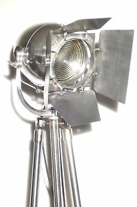 Vintage Theatre Light Art Deco Film Industrial Floor Lamp Antique Strand Cinema