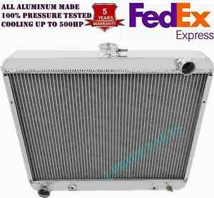 3 Rows Aluminum Radiator Fit 1970 74 Dodge Mopar Cars 22 Wide Core Big Block