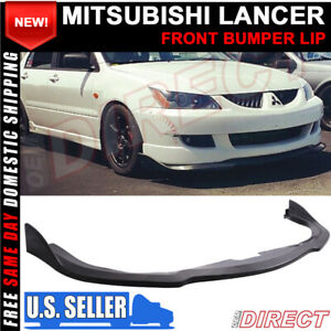 For 04 05 Mitsubishi Lancer Cs Front Lip Splitter For R Model S