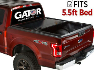 Gatortrax Matte fits 2015 2018 Ford F150 5 5 Ft Retractable Tonneau Bed Cover