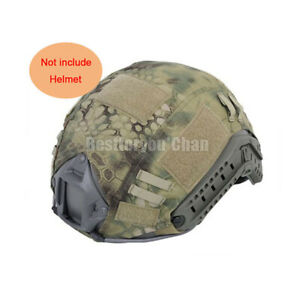 Fast Helmet Cover Tactical Airsoft Hunting Military Gear BJ PJ Multicam Camo MR