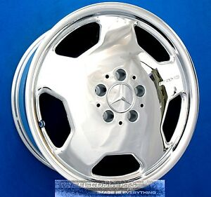 Mercedes C36 C43 Amg 17 Inch Chrome Wheel Exchange C Oe