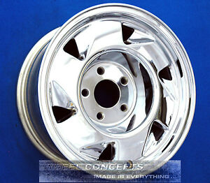 Chevy S10 S15 Blazer 15 Inch Chrome Wheel Rim Gmc Jimmy Sonoma 15x7 0 Gm 5029
