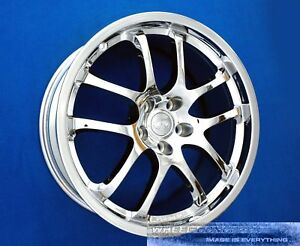 Infiniti G35 Sport Coupe 19 Inch Chrome Wheel Exchange G 35 G35s S Rays Forged