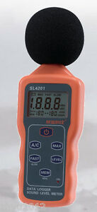 Sl4201 Digital Sound Level Meter Noise Level Meter Tester usb Sound Level Meter