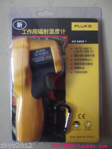 1pcs Fluke 62 Max Infrared Thermometer Brand New And Sealed