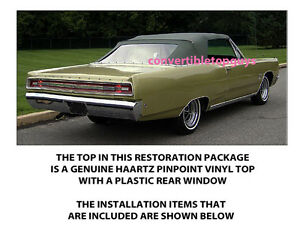 Plymouth Fury Iii Sports Fury Convertible Top Do It Yourself Package 1967 1968