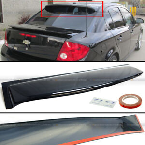 Fit 05 10 Cobalt 4dr Sedan Plastic Rear Window Roof Wing Visor Spoiler