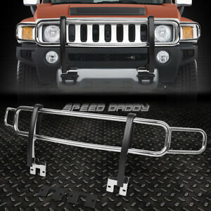 For 06 10 Hummer H3 h3t Oe Style Chrome Stainless Steel Front Brush Grille Guard