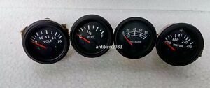 Oil Pressure Mechanical Temp Elec Volt Fuel Gauge 0 90 Ohms 2 1 16 52 Mm