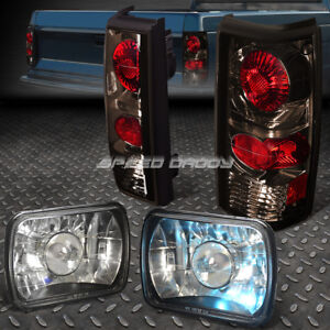 Projector Black Headlight Smoked Altezza Tail Light For 82 94 Chevy Gmc S10 S15