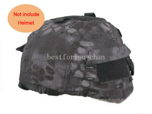 Tactical Airsoft Military MICH 2000 Ver2 Helmet Cover With Back Pouch Typhon TYP