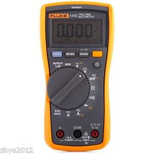 1pcs New Fluke 117c Havc Voltalert Backlight Multimeter F117c