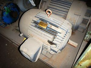 60 Hp Us Electric Motor 1800 Rpm 364ts Frame Tefc 460 V 1 1