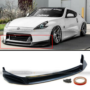 Fit 09 12 370z Unpainted Polyurethane Sl Style Front Bumper Chin Lip Body Kit